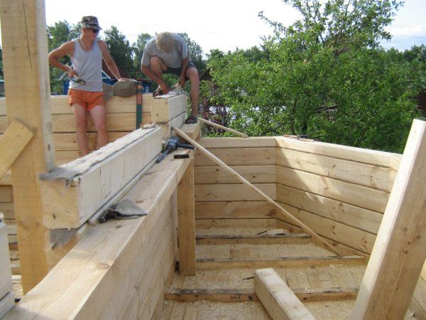 Строительство загородного домика
