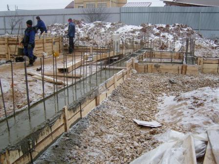 Строительство зимой, продлеваем сезон строительства