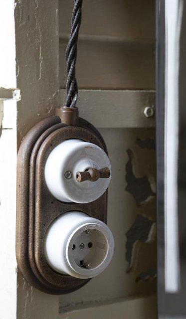 Внешняя (витая и плоская) электропроводка: оригинальный стиль и безопасность в доме