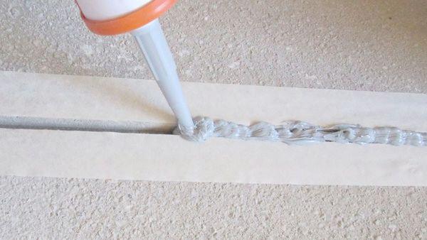 Уплотнение швов в тонкостенных конструкциях