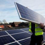 Как строят солнечные электростанции