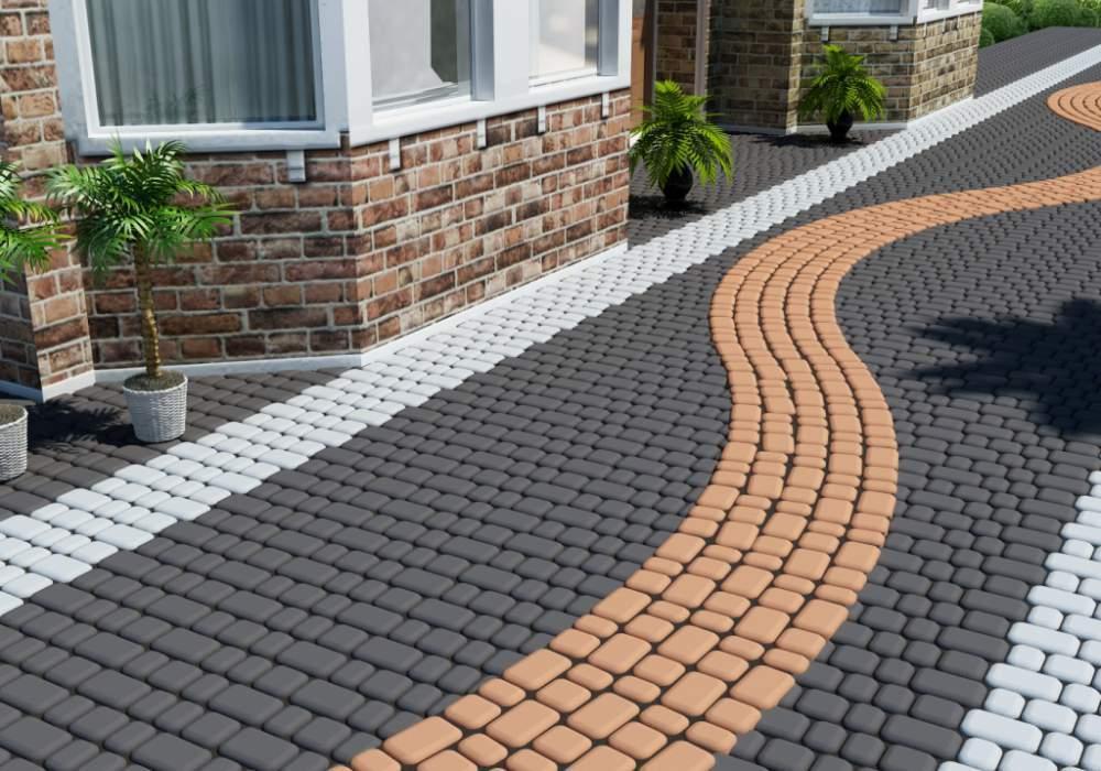 Особенности и преимущества тротуарной плитки
