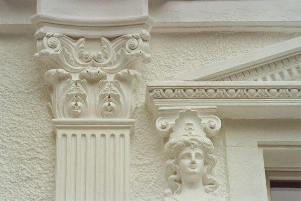Особенности фасадной лепнины из бетона
