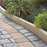 Практичность бетонных садовых бордюров