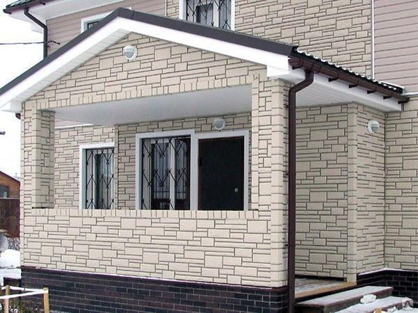 Фасадные панели – практичное решение для украшения дома