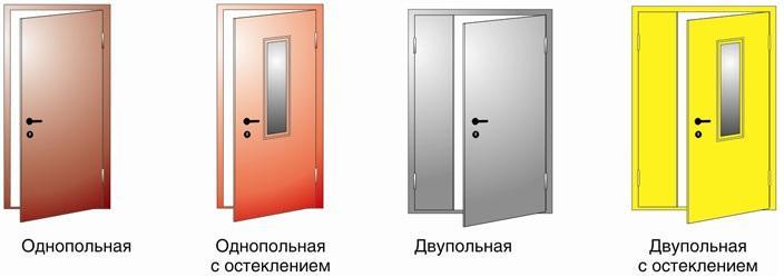 Разбираемся в таких классах противопожарных дверей, как EI 60 и EI 30