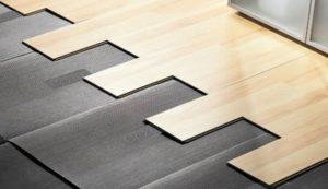 Выбор подложки под ламинат на бетонный пол
