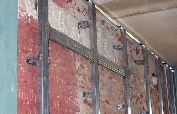 Какой крепеж используется для фиксации гипсокартона