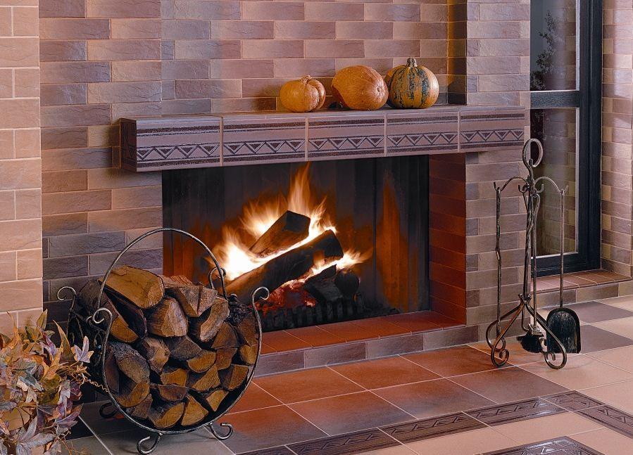 Современная огнеупорная плитка